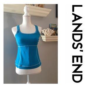 🍁EUC Lands End swim suit top size 6